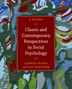 Cover for Classic and Contemporary Perspectives in Social Psychology