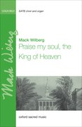 Cover for Praise my soul, the King of heaven