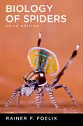 Cover for Biology of Spiders
