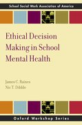 Cover for Ethical Decision Making in School Mental Health