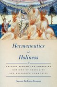 Cover for Hermeneutics of Holiness