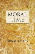 Cover for Moral Time