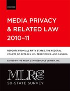 Cover for MLRC 50-State Survey: Media Privacy and Related Law 2010-11