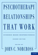 Cover for Psychotherapy Relationships That Work