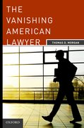 Cover for The Vanishing American Lawyer