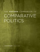 Cover for The Oxford Companion to Comparative Politics