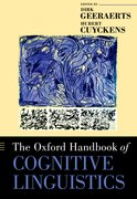 Cover for The Oxford Handbook of Cognitive Linguistics