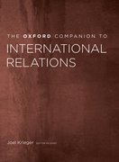 Cover for The Oxford Companion to International Relations