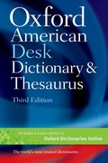 Cover for Oxford American Desk Dictionary & Thesaurus
