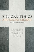 Cover for Biblical Ethics and Social Change