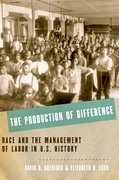 Cover for The Production of Difference