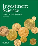 Cover for Investment Science