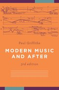 Cover for Modern Music and After