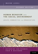 Cover for Human Behavior and the Social Environment, Macro Level