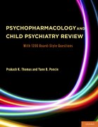 Cover for Psychopharmacology and Child Psychiatry Review