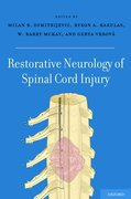 Cover for Restorative Neurology of Spinal Cord Injury