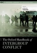 Cover for The Oxford Handbook of Intergroup Conflict