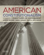 Cover for American Constitutionalism: Volume I: Structures of Government