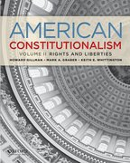 Cover for American Constitutionalism: Volume II: Rights & Liberties