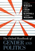 Cover for The Oxford Handbook of Gender and Politics