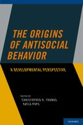 Cover for The Origins of Antisocial Behavior