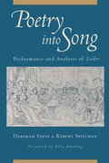 Cover for Poetry into Song