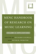 Cover for MENC Handbook of Research on Music Learning