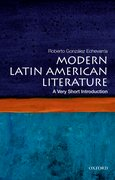 Cover for Modern Latin American Literature: A Very Short Introduction