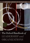 Cover for The Oxford Handbook of Leadership and Organizations