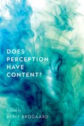 Cover for Does Perception Have Content?