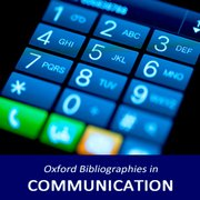 Oxford Bibliographies: Communication