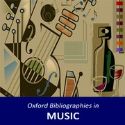 Cover for Oxford Bibliographies in Music
