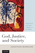 Cover for God, Justice, and Society
