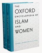 Cover for The Oxford Encyclopedia of Islam and Women