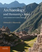 Cover for Archaeology and Humanity