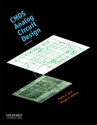 Cover for CMOS Analog Circuit Design
