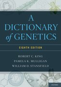 Cover for A Dictionary of Genetics