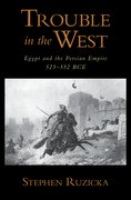 Cover for Trouble in the West