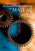 Cover for An Introduction to Technical Problem Solving with MATLAB v.7