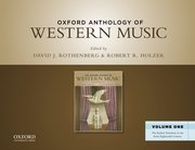 Cover for Oxford Anthology of Western Music