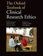 Cover for The Oxford Textbook of Clinical Research Ethics