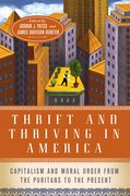 Cover for Thrift and Thriving in America