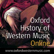 Cover for Oxford History of Western Music