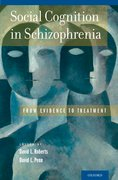 Cover for Social Cognition in Schizophrenia