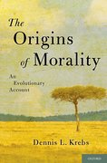 Cover for The Origins of Morality