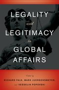 Cover for Legality and Legitimacy in Global Affairs