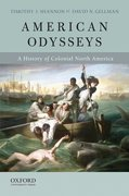 Cover for American Odysseys