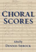 Cover for Choral Scores