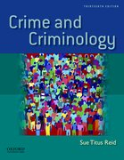 Cover for Crime and Criminology