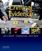 Cover for Criminal Evidence